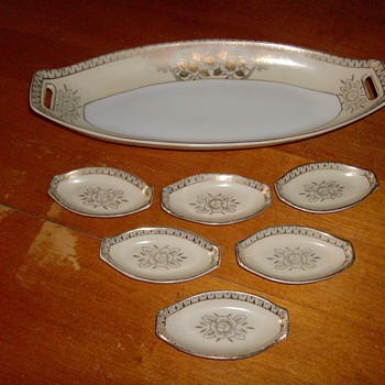 Sushi Set Art Deco  - China and Dinnerware