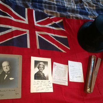 Personal belongings to Winston Churchill  - Politics