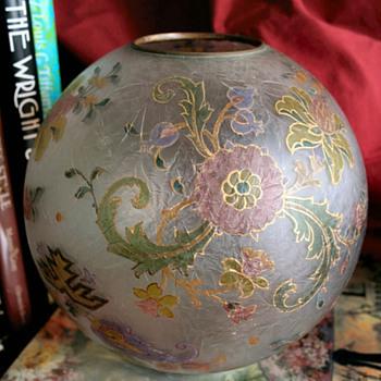 Great ball shade - Art Glass