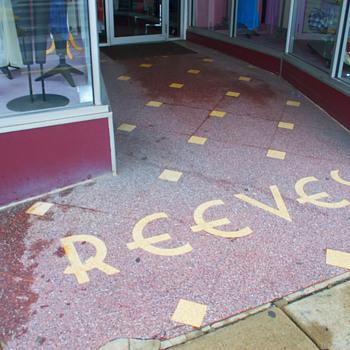 Mosaic Sidewalk, Luzerne, PA