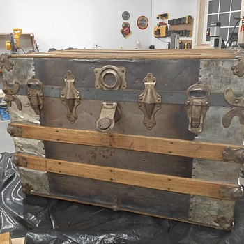 Old Travel Trunk Age?? - Furniture