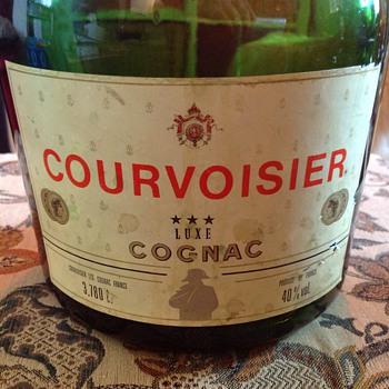 Vintage 3.780 l. Courvoisier Bottle