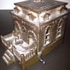 Bronze Dog House Piggy Bank
