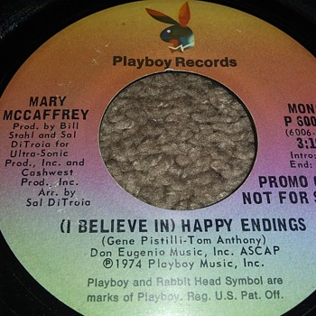 Mary McCaffrey And Playboy...On 45 RPM Vinyl - Records