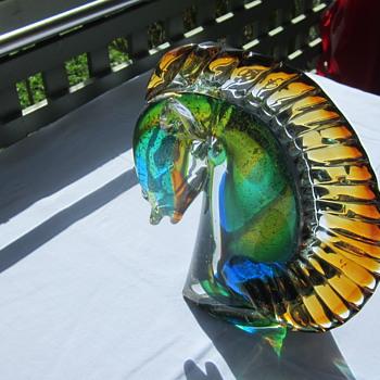 Seahorse - Art Glass