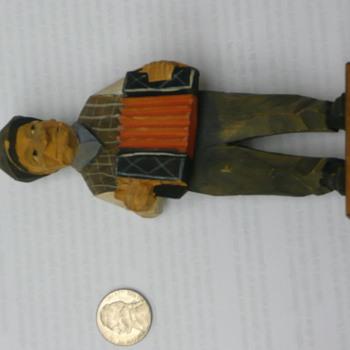 Man with an Instrument - Artist unknown - Dolls