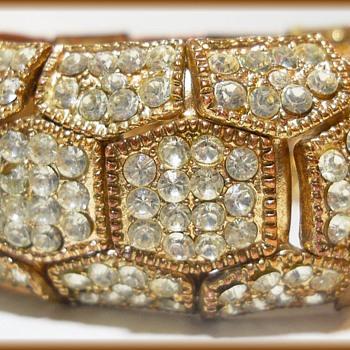 A Big Old Chunky Bracelet - Costume Jewelry  - Costume Jewelry