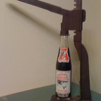 Table Top Mounted Bottle Opener
