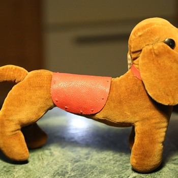 Stuffed Wiener Dog with Saddle?