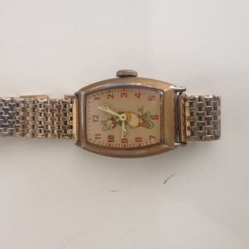 1947 Ingersol Disney Daisy Duck Wristwatch - Wristwatches
