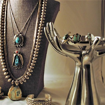Native American Sterling Silver Navajo Pearls and more - Fine Jewelry