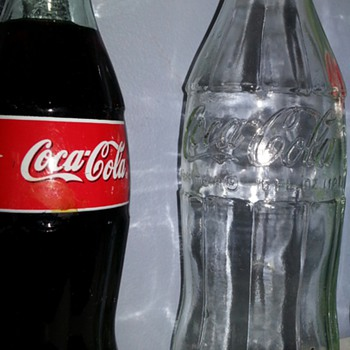 Small unopened Bottle of Coca-Cola gifted to me