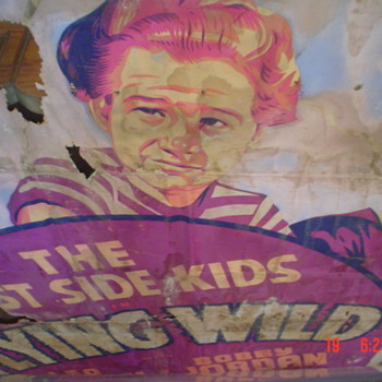 Old hand painted movie posters from the 1940's - Posters and Prints