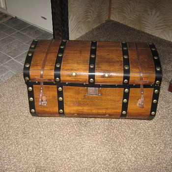 My finished Jennie Lind Trunk AKA Jenny Lind Trunk - Furniture