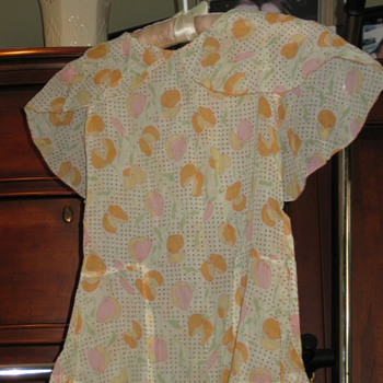Two Darling Vintage Childrens Dresses-  - Womens Clothing