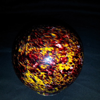Czech globe  - Art Glass