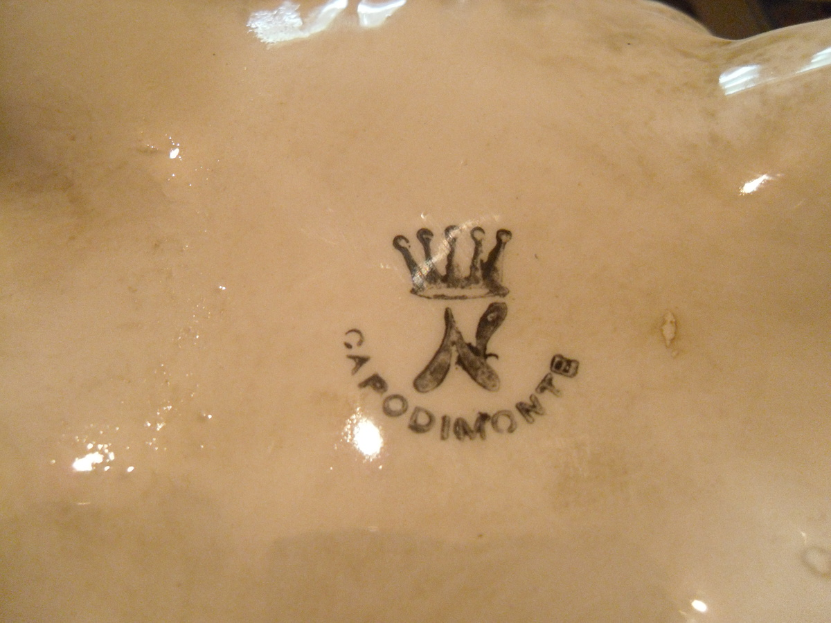 Capodimonte porcelain vase collectors weekly altavistaventures Images