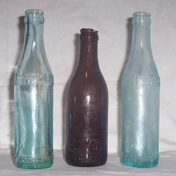 Pepsi Cola bottles! - Bottles
