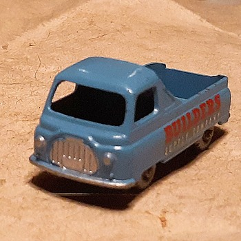 Monotonous Monochrome Matchbox Monday MB 60-A Morris J2 Pickup 1958-1961 - Model Cars