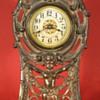 """Peerless"" Cast Front Clock by Western Clock Mfg. Co, 1911"