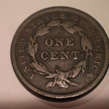 1842 Large cent - US Coins
