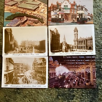 Old Birmingham uk postcards. - Postcards