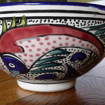 Fishy Fruit Bowl - Kitchen