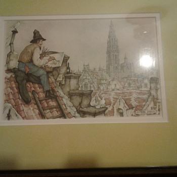 Anton Pieck Art - Fine Art
