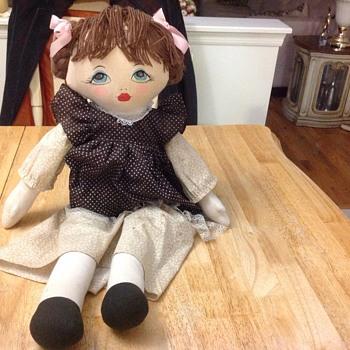 tall cloth doll  - Dolls