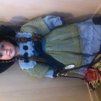 My oldest porcelain doll I've had from a child   - Dolls