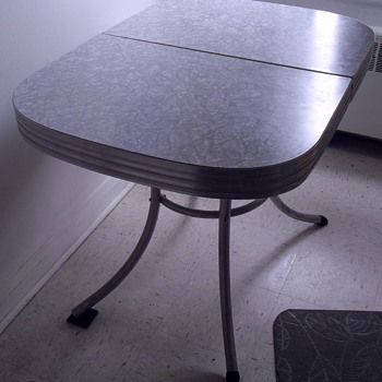 Formica table.