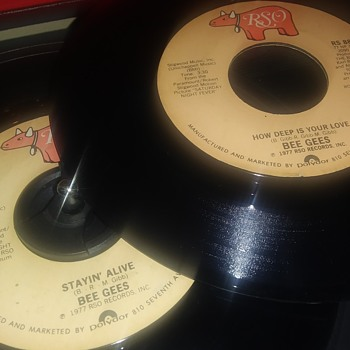 45 RPM SINGLE(S)....#94-#95 - Records
