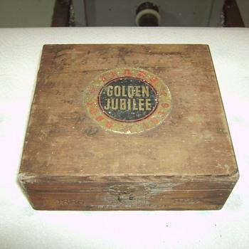 Sears Golden Jubilee Cigar Box