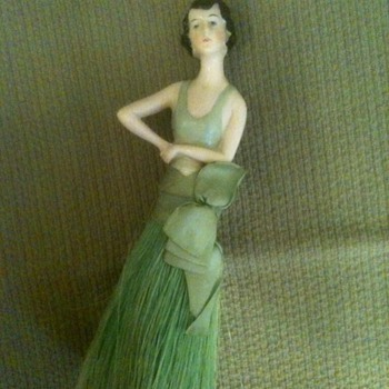"1920's Art Deco ""Butler"" - Crumb Duster - Art Deco"