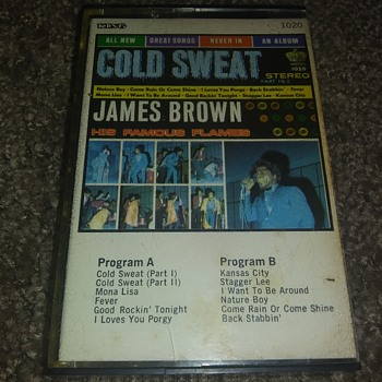 James Brown...On Cassette Tape. - Records