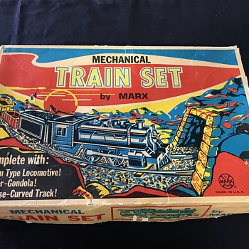 Marx toy train set  - Model Trains