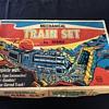 Marx toy train set