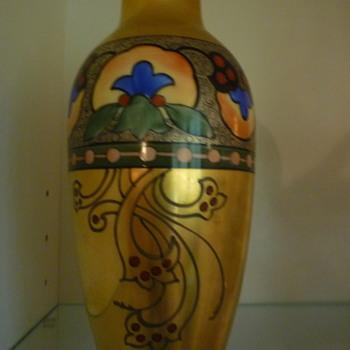 Painted Vase - China and Dinnerware
