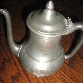 pewter pitcher - Kitchen