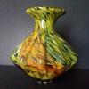 Japanese ribbed vase, 1950s-1960s