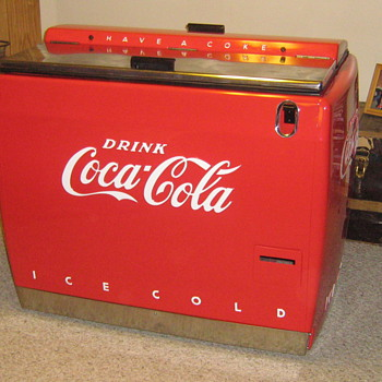 1940's Coke Water Bath Cooler  - Coca-Cola