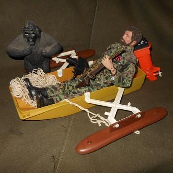 GI Joe Adventure Team Capture of the Pygmy Gorilla 1970-1972 - Toys
