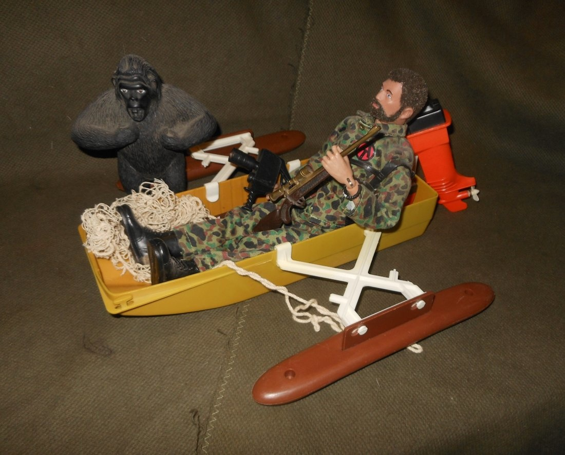 Vintage 1970s G I Joe Adventure Team Pygmy Gorilla Figure