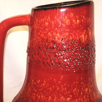 "Huge Western.Germany Vase-2""Circa 1960-70 - Pottery"