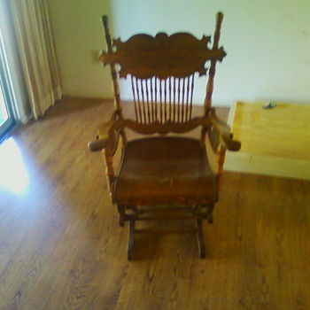 Old Rocking Chair need seat fixing any offers ?