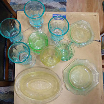 More Old Glass - Glassware