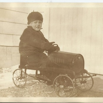 Original 1928 photo I own - Toys
