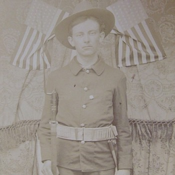 Spanish American War Volunteer - Photographs