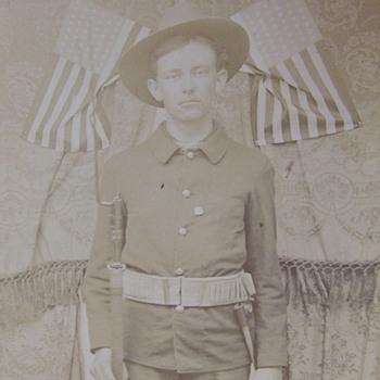Spanish American War Volunteer - Photographs