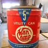 Van Camp hardware 5 gallon can Indy